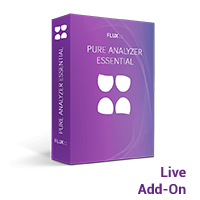 Pure Analyzer Live Add-on Option